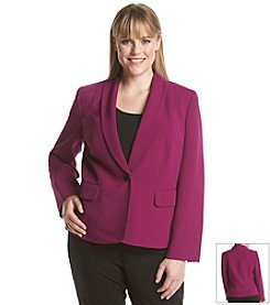 Kasper® Plus Size One Button Jacket