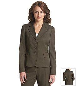 LeSuit ® Three Button Front Jacket