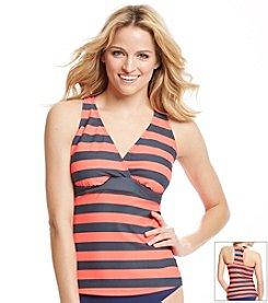 NEXT by Athena® Lined Up Super Woman D-Cup Tankini Top