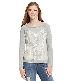 Jolt® Lace Front Pullover
