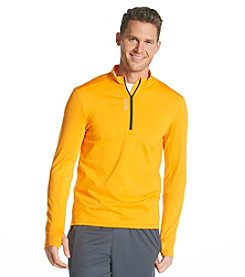 Reebok® Men's Long Sleeve 1/4 Zip Play Dry Pullover