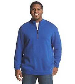 Tommy Bahama® Men's Big & Tall Reversible Flip Side Pro Half Zip