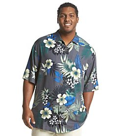 Tommy Bahama® Men's Big & Tall Gaugantic Floral Camp Shirt