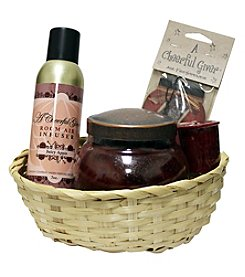 A Cheerful Giver Juicy Apple Gift Basket