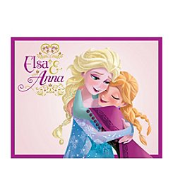 Disney® Frozen Elsa And Anna Hugging Canvas Art