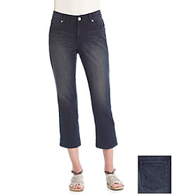 Vintage America Blues Boho Crop Jeans