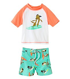 Carter's® Baby Boys' 2-Piece Surfer Dog Swim Set