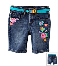 Squeeze® Girls' 2T-6X Marti Wash Bermuda Shorts