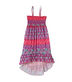 Squeeze® Girls' 7-16 Hi Low Converter Dress