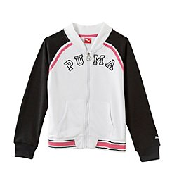 PUMA® Girls' 4-16 Baseball Jacket