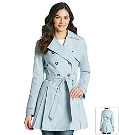 Laundry Double-Breasted Trench Coat
