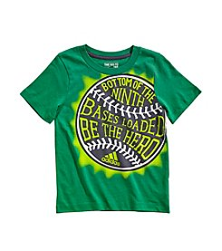 adidas® Boys' 2T-7X Short Sleeve Be The Hero Tee