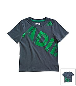 adidas® Boys' 2T-7X Short Sleeve Sport Tee