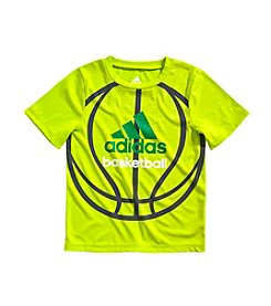 adidas® Boys' 2T-7X Short Sleeve Climacool Ball Tee