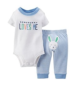 Carter's® Baby Boys' Bunny Loves Me 2-Piece Set