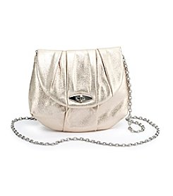 La Regale® Satin Turnlock Crossbody