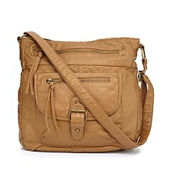 GAL Zip Pocket Convertible Hobo