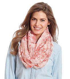 Collection 18 Big Blooms Loop Scarf