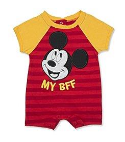 Nannette® Baby Boys' Bff Mickey Romper