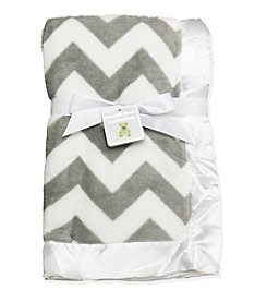 Cuddle Bear® Chevron Blanket
