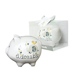 Cuddle Bear® Elephant Piggy Bank