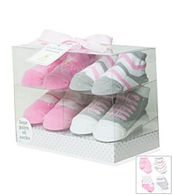 Cuddle Bear® Butterfly Sock Box