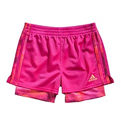 adidas® Girls' 2T-6X Pow Shorts