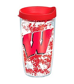NCAA® University of Wisconsin Badger Splatter Wrap 16-oz. Insulated Cooler