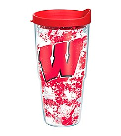 NCAA® University of Wisconsin Badger Splatter Wrap 24-oz. Insulated Cooler