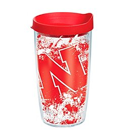 NCAA® University of Nebraska Splatter Wrap 16-oz. Insulated Cooler