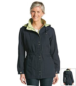 Mackintosh Poplin Anorak With Two-Tone Hood Jacket