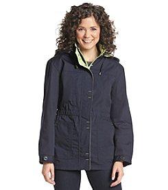 Mackintosh Petites' Poplin Anorak With Two-Tone Hood Jacket