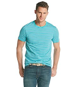Le Tigre® Men's Short Sleeve Feeder Stripe Crewneck Tee