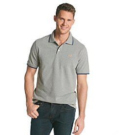Le Tigre Men's Solid Pique Polo