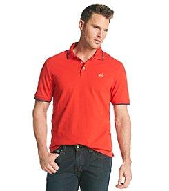 Le Tigre® Men's Solid Pique Polo