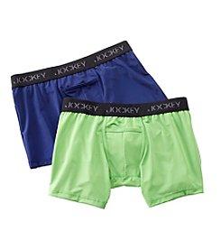 Jockey® Men's 2 Pack Micro Sport Boxer Brief