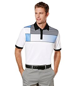 Callaway® Men's Big & Tall Short Sleeve Mondrian Printed Polo