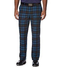 Ben Hogan® Men's Flat Front Barclay Plaid Pant