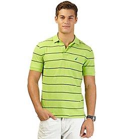 Nautica® Men's Short Sleeve Striped Deck Polo