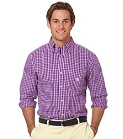 Chaps® Men's Long Sleeve Plaid Woven Button Down