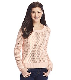 Jessica Simpson Pure Open Weave Sweater