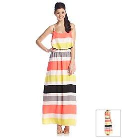 Sequin Hearts® Popover Maxi Dress