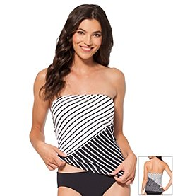 Anne Cole® Simple Stripe Bandini Top