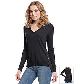 MICHAEL Michael Kors® Snap Side Sweater