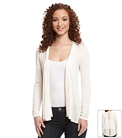 AGB® Cozy Lace Back Cardigan