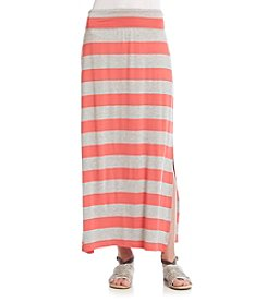 AGB® Stripe Maxi Skirt
