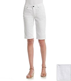 Relativity® Twill Bermuda Shorts