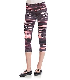 Calvin Klein Performance Marble Print Cropped Tight