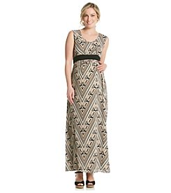 Three Seasons Maternity™ Print Maxi Dress