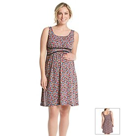Three Seasons Maternity™ Floral Print Tank Dress